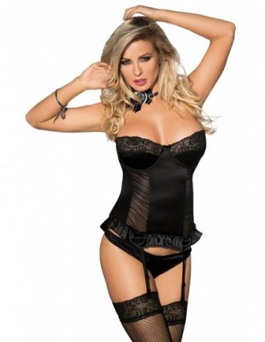 Samelle corset zwart