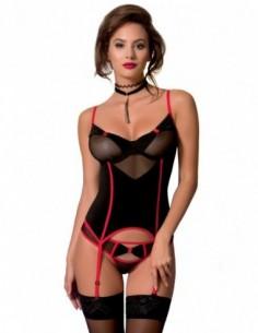 Valentine corset zwart